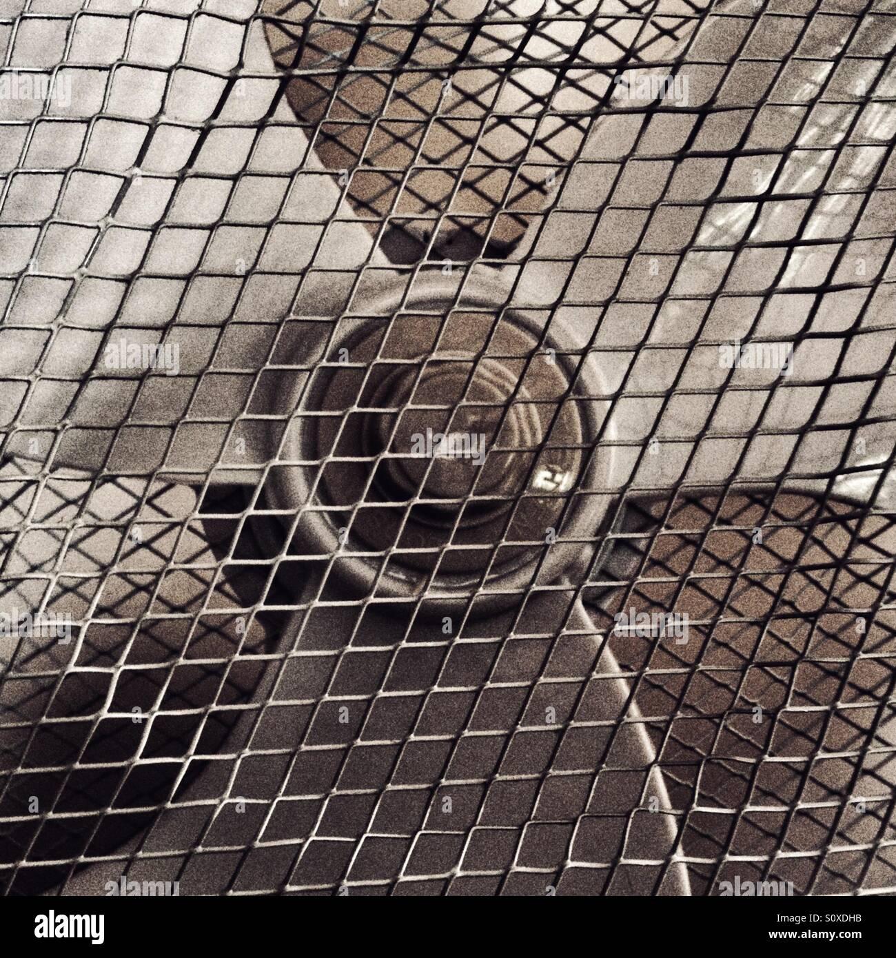 Ventilateur intérieur Photo Stock
