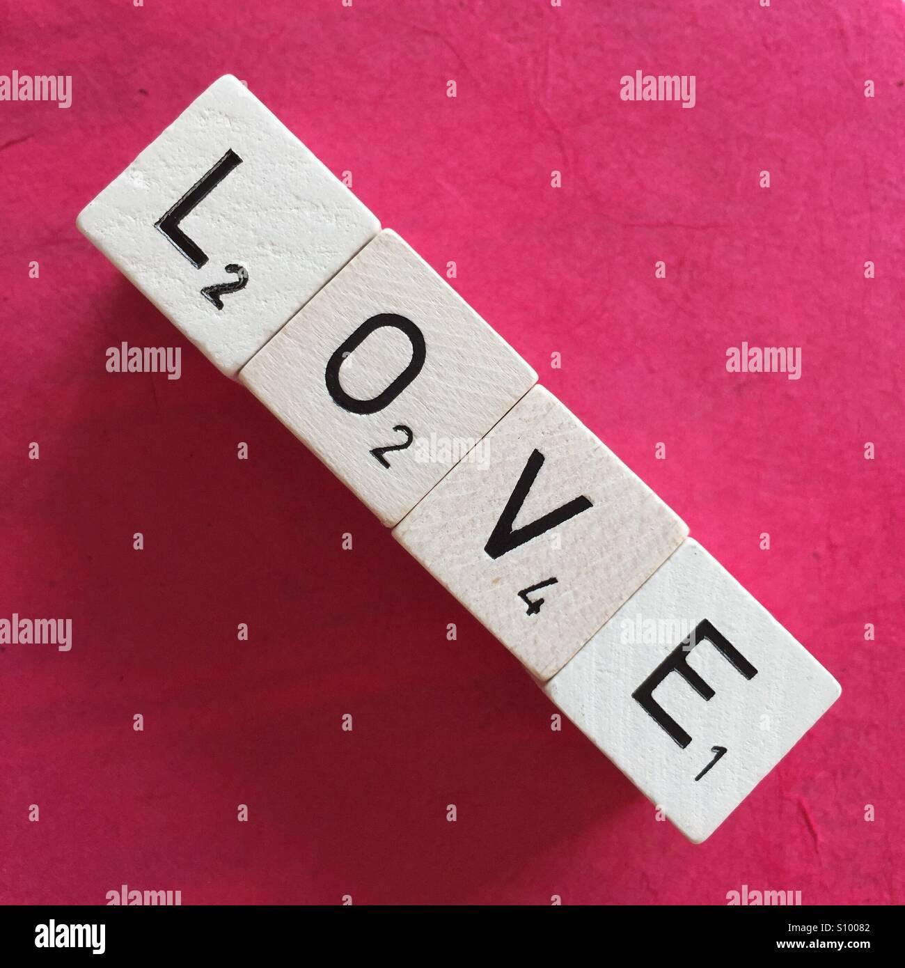 Amour Banque D'Images