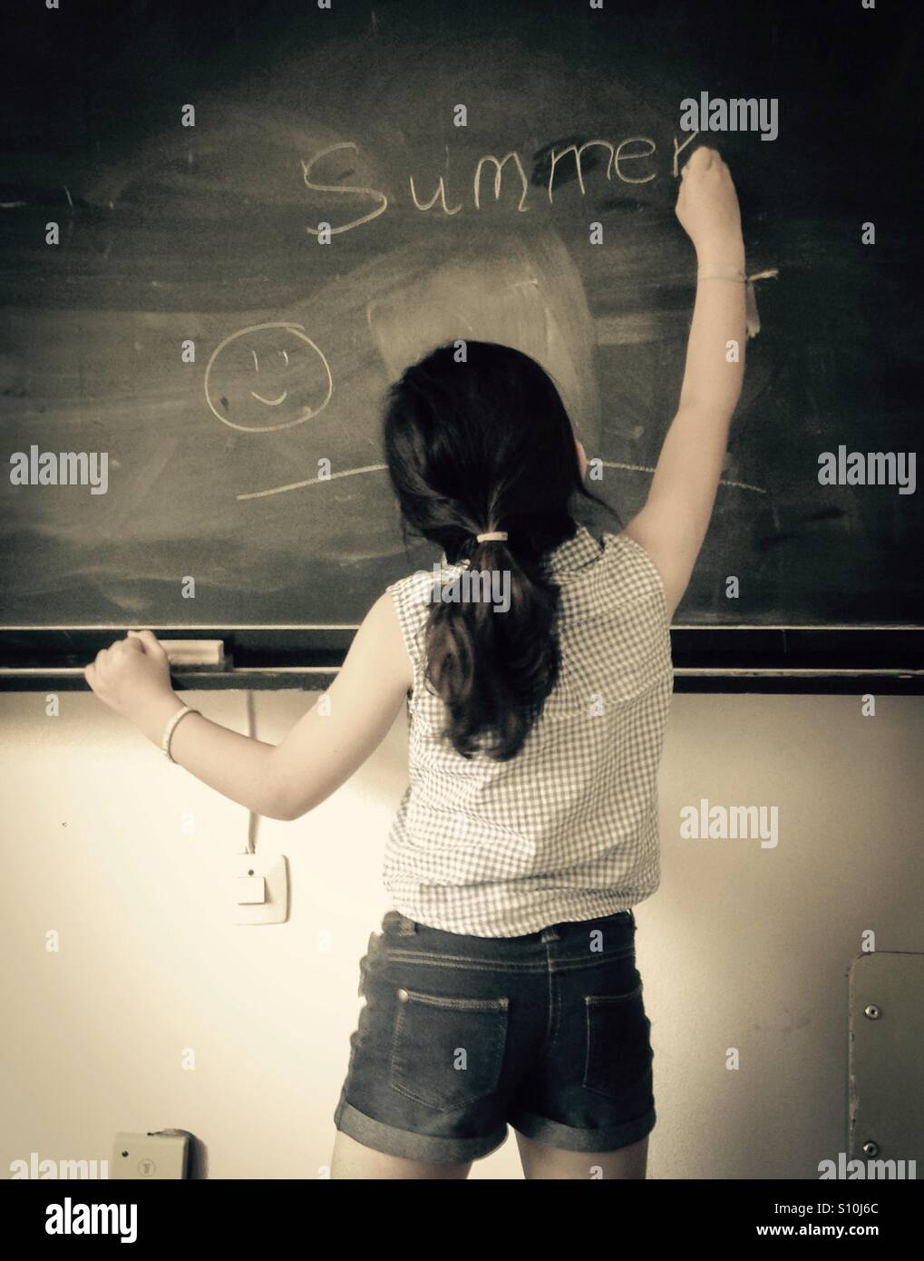 Vacances scolaires d'été Photo Stock