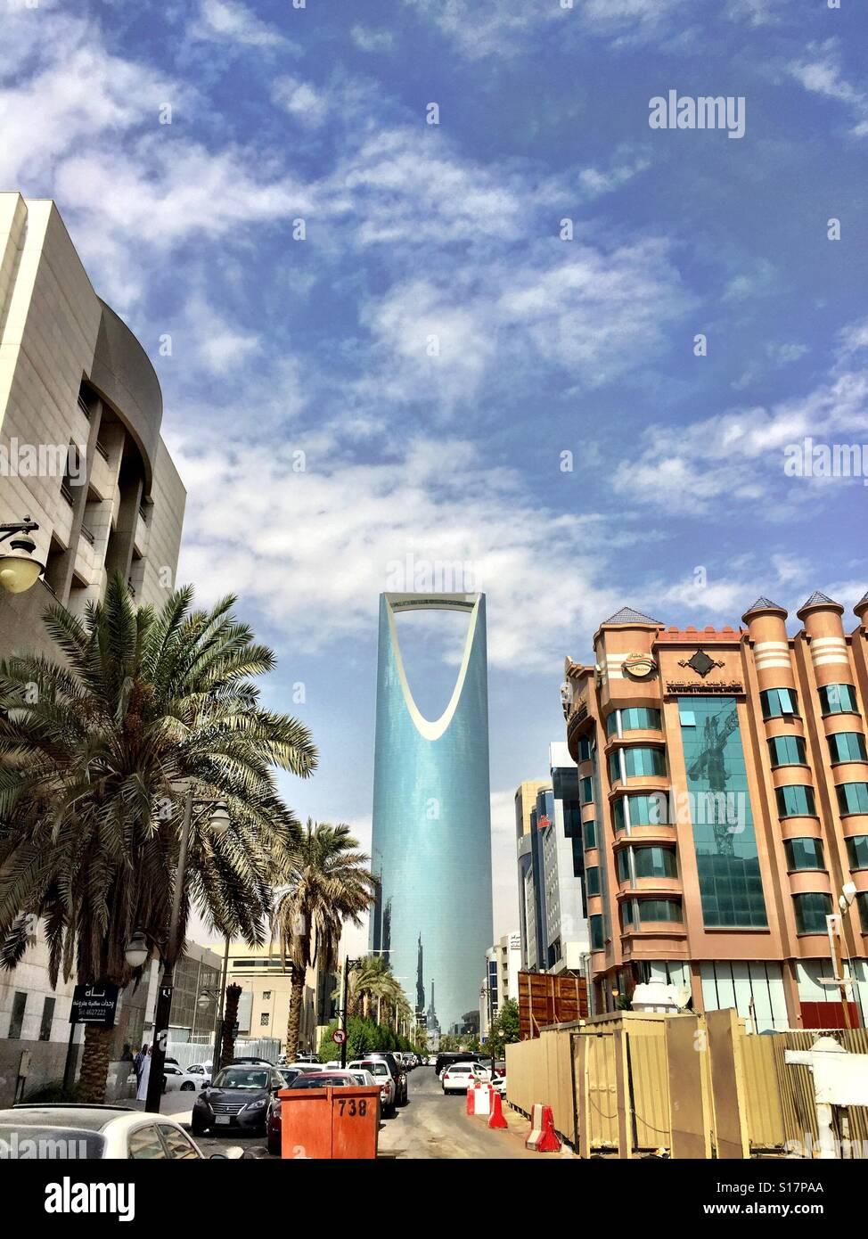 Kingdom Centre, Riyadh Photo Stock