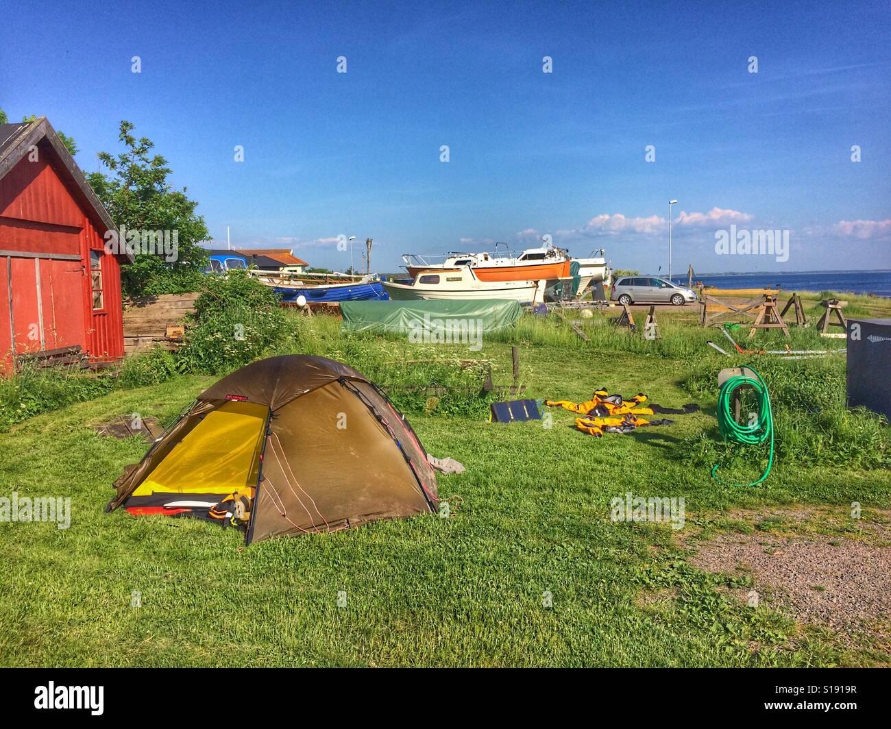 Tente Hilleberg Staika Banque D'Images