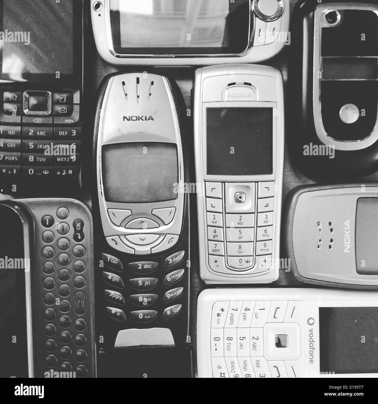 Le développement de la technologie Banque D'Images