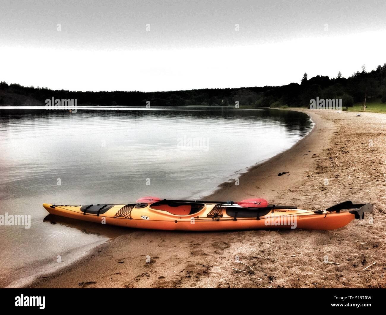 Kodiak Prijon kayak à Sätra, Suède Banque D'Images