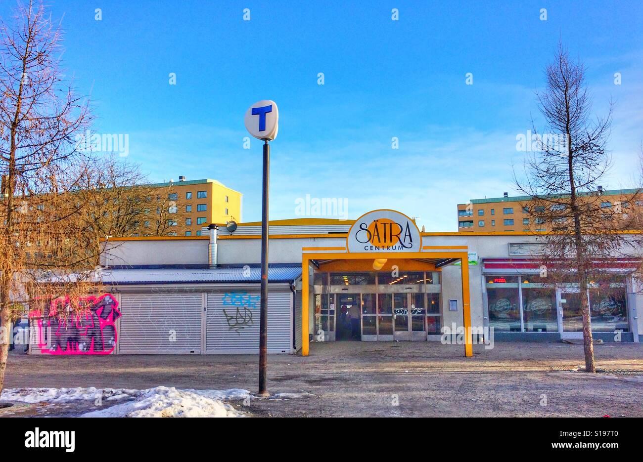 Sätra Centre Banque D'Images