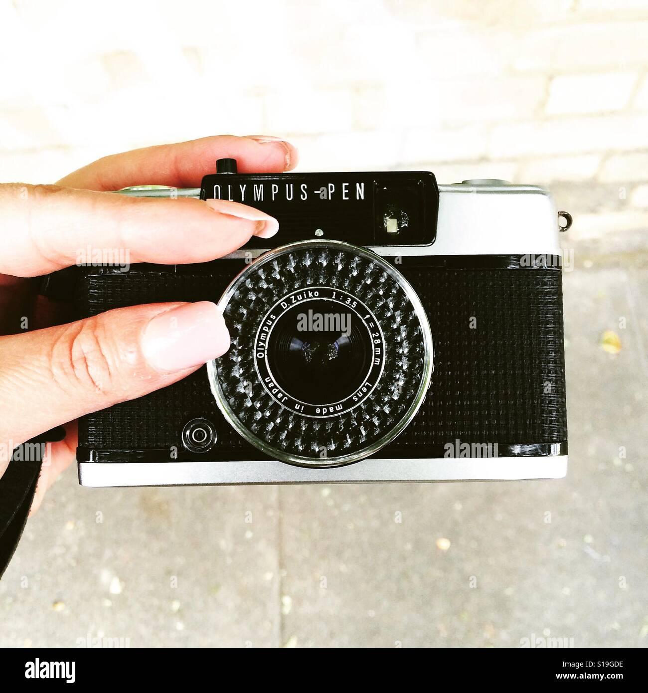Olympus Pen Banque D'Images