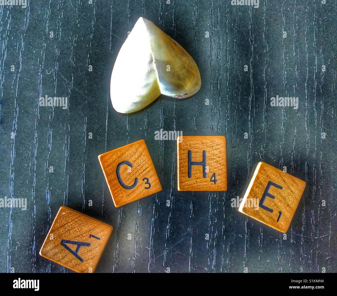 Le chagrin. Photo Stock