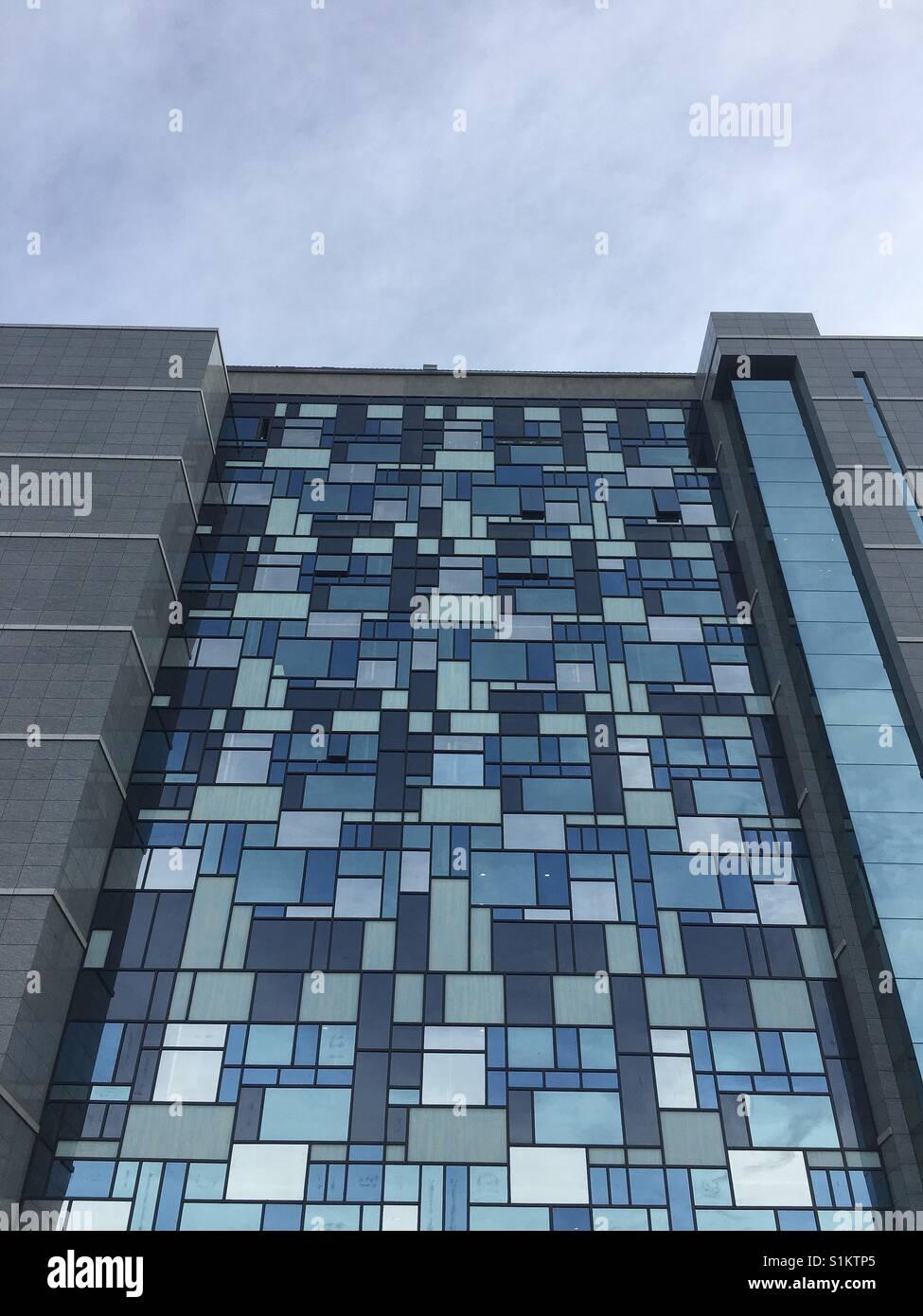 L'architecture contemporaine Banque D'Images