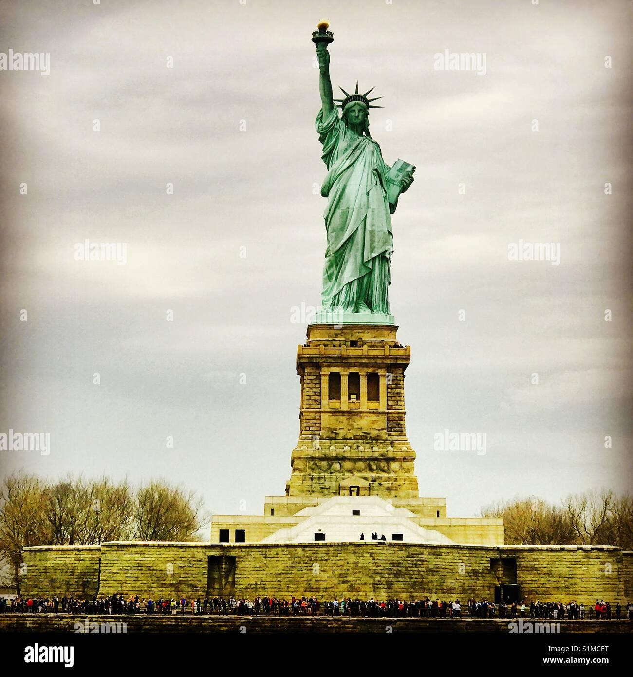 La Statue de la liberté, New York. Photo Stock