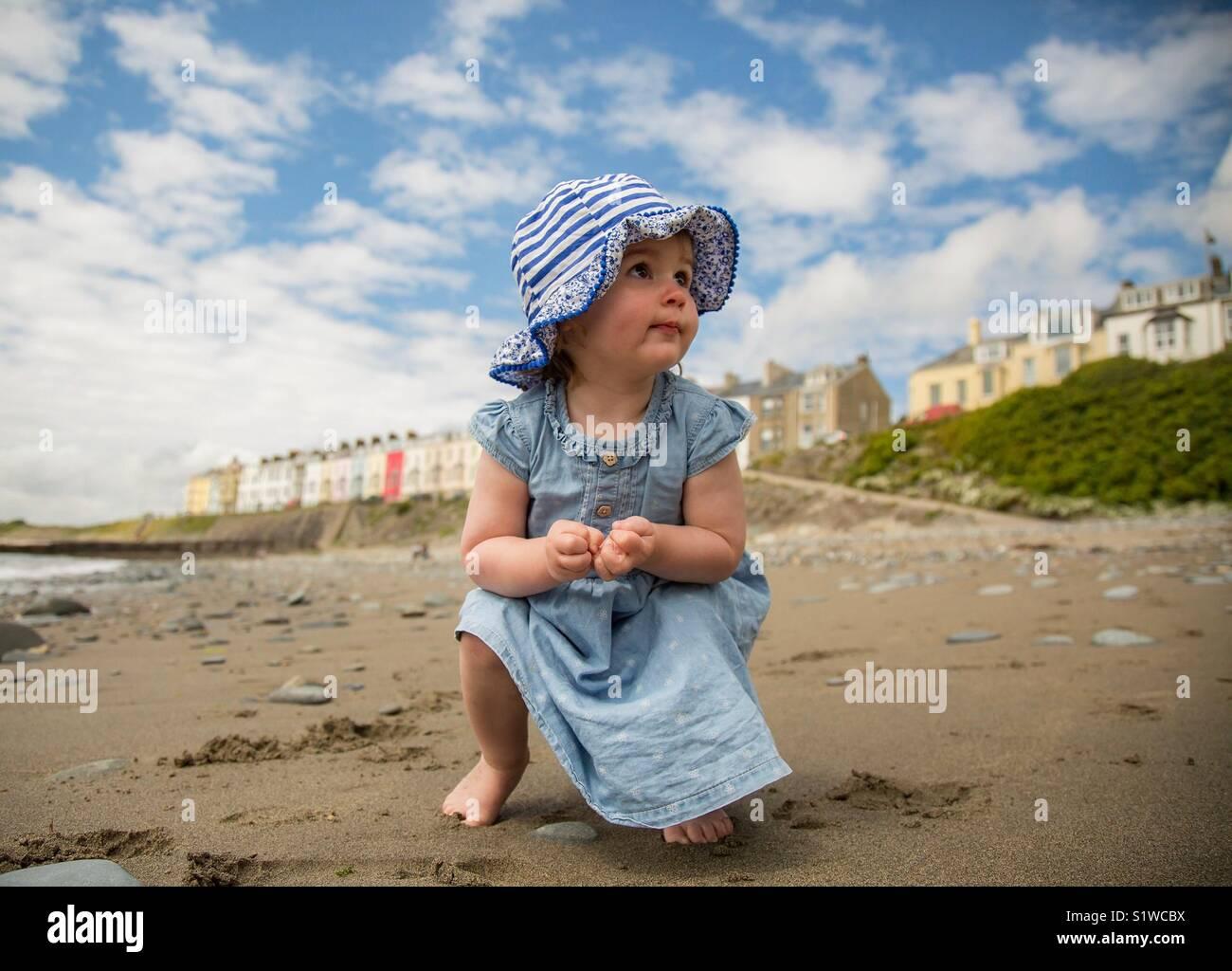 Enfant curieux Photo Stock