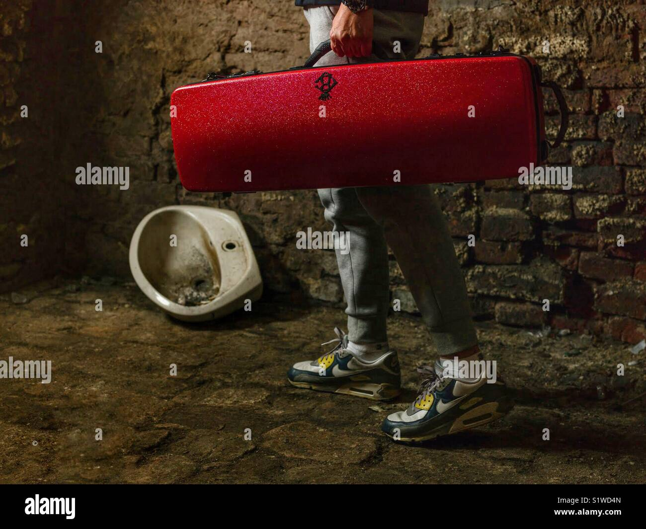 Le violoniste Photo Stock