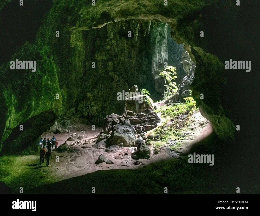 Gua Kota Gelanggi Photo Stock