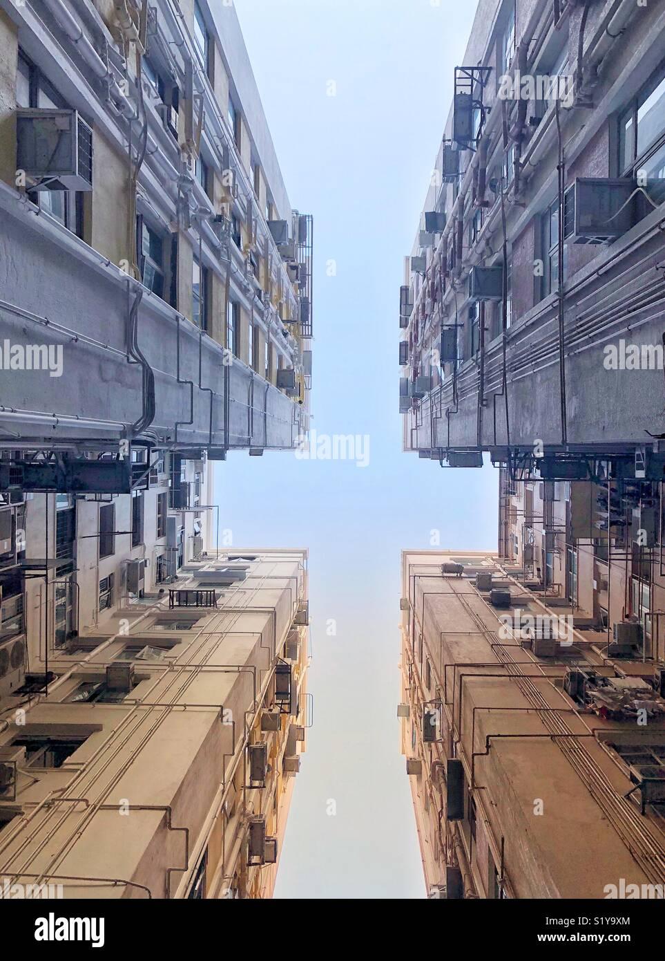 Au-dessus et au-delà Photo Stock