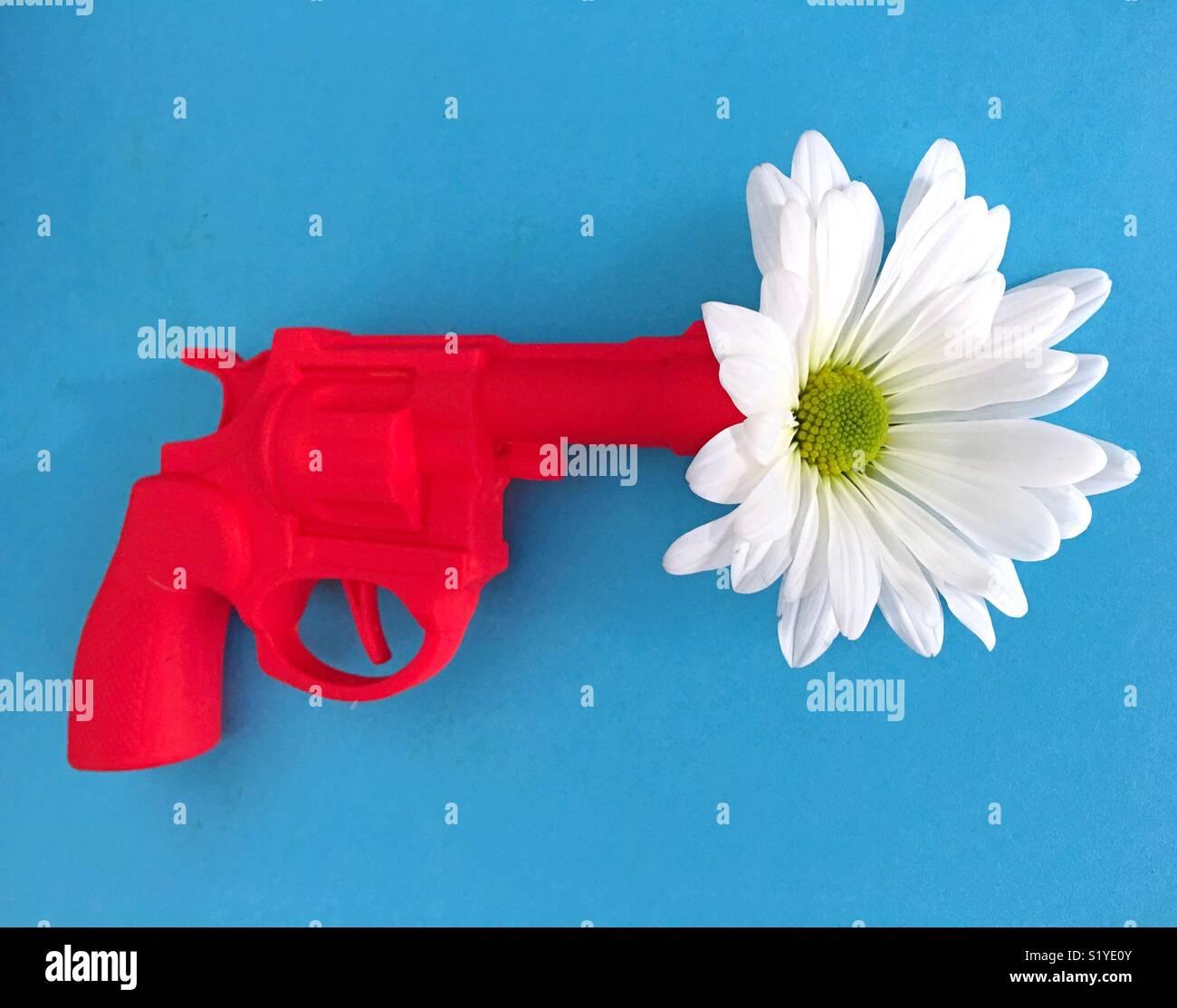 Le contrôle des armes à feu: conceptuel aux États-Unis. Photo Stock