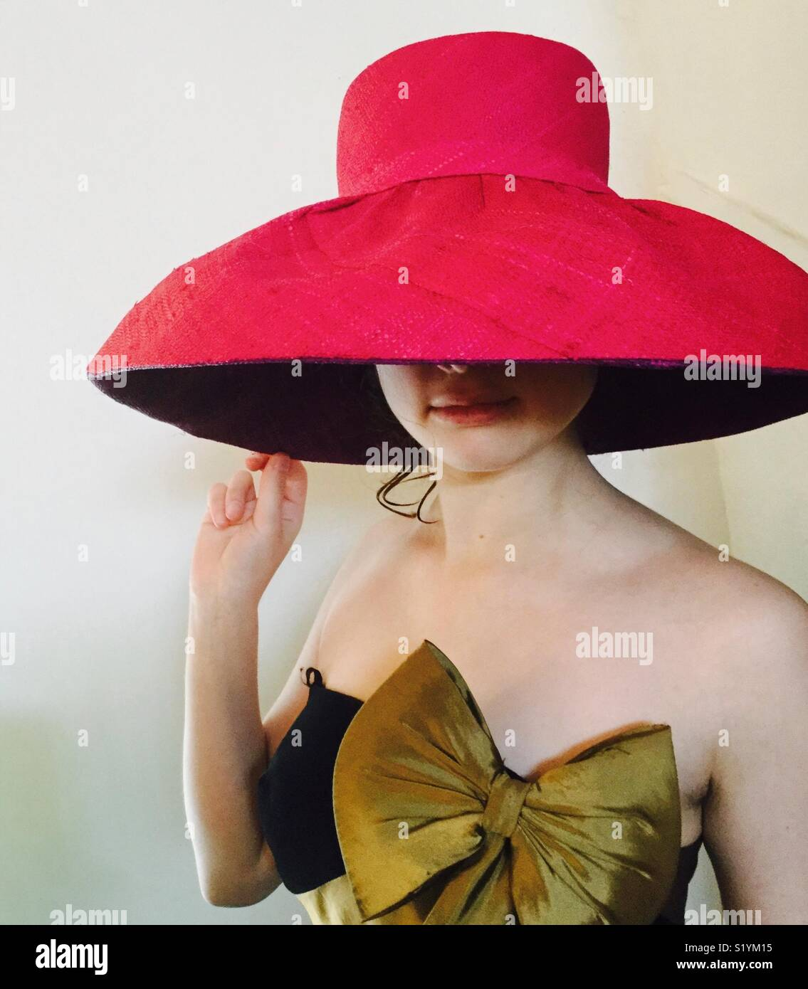 La Cerise Chapeau Photo Stock