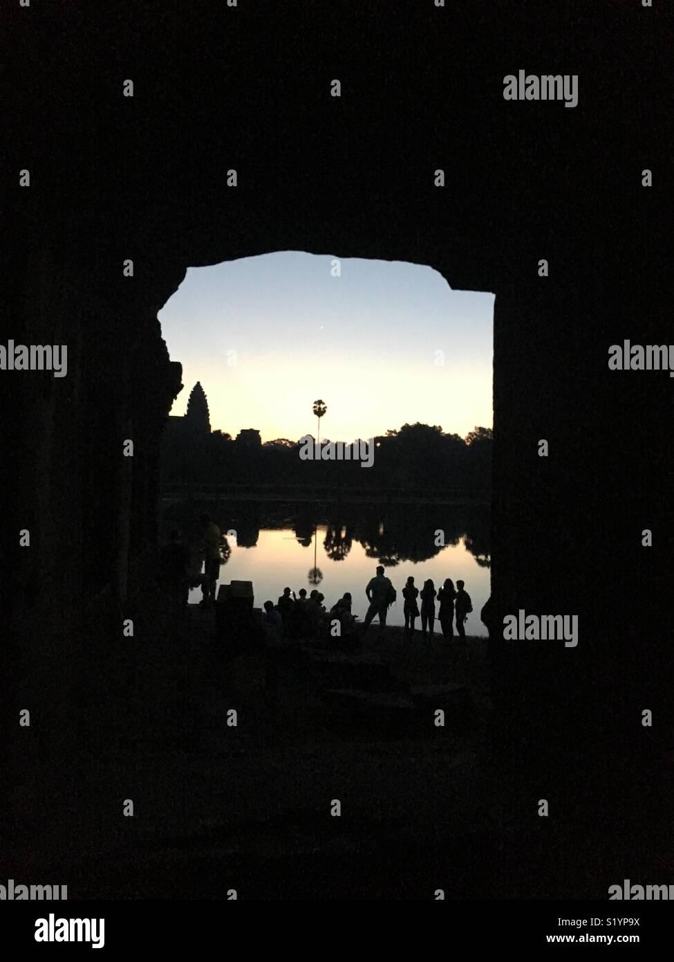 Angkor wat Photo Stock