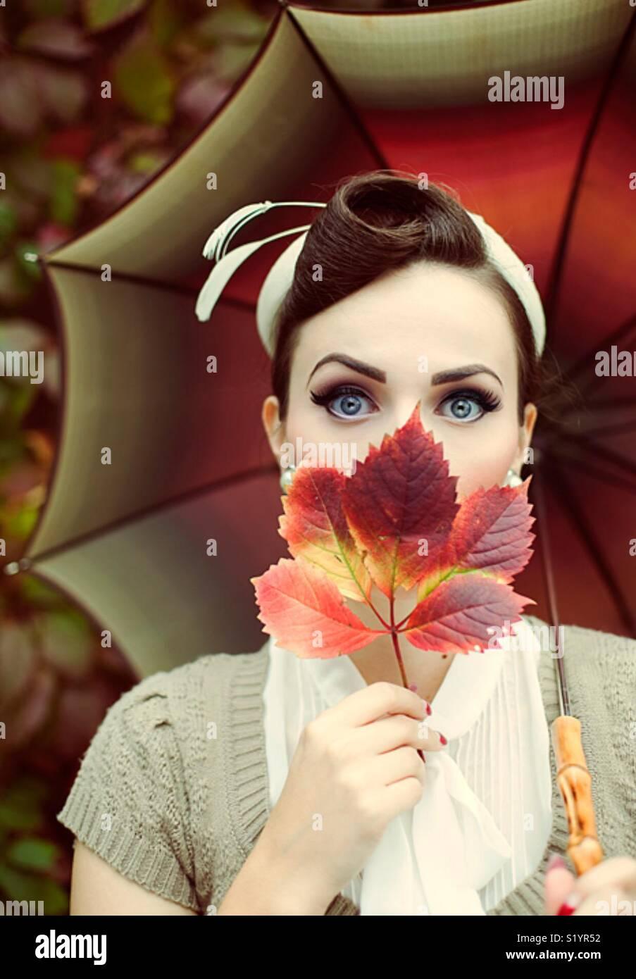La journée parfaite avec ma belle amie Ariana dans🍁 d'automne Photo Stock