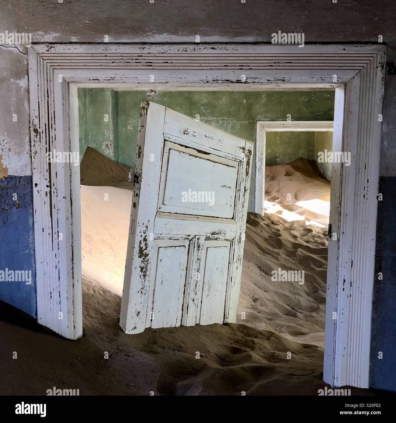 La décoloration dans le temps Photo Stock