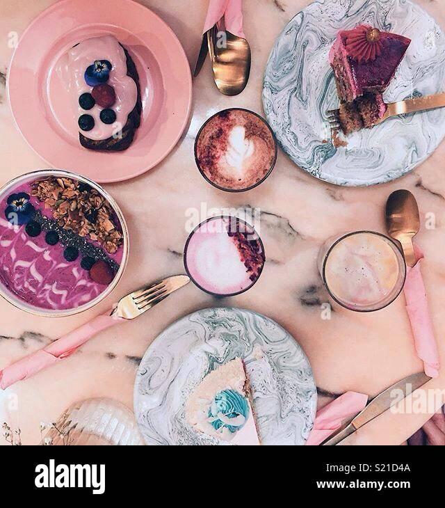 Gâteau partie Photo Stock