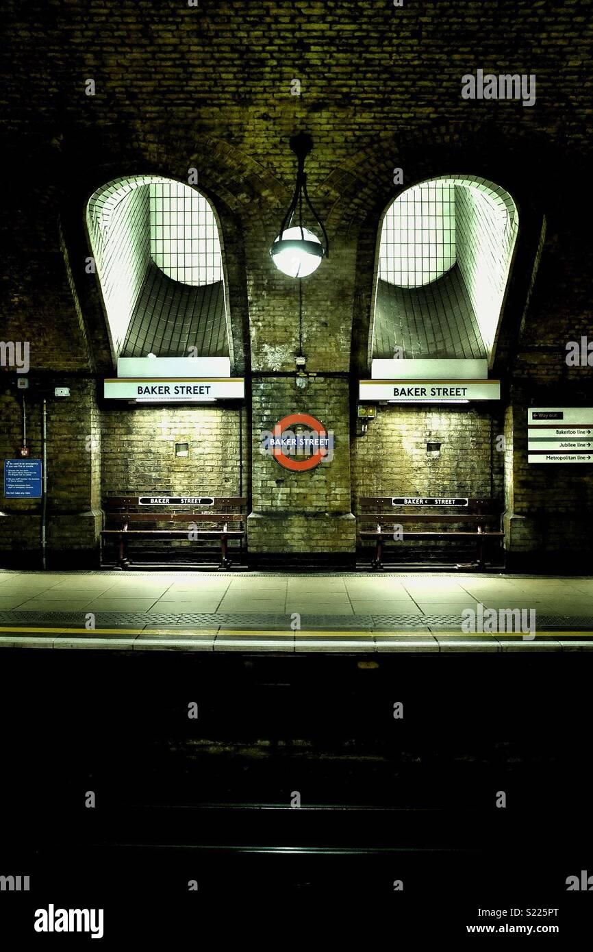 Baker Street, Londres Photo Stock