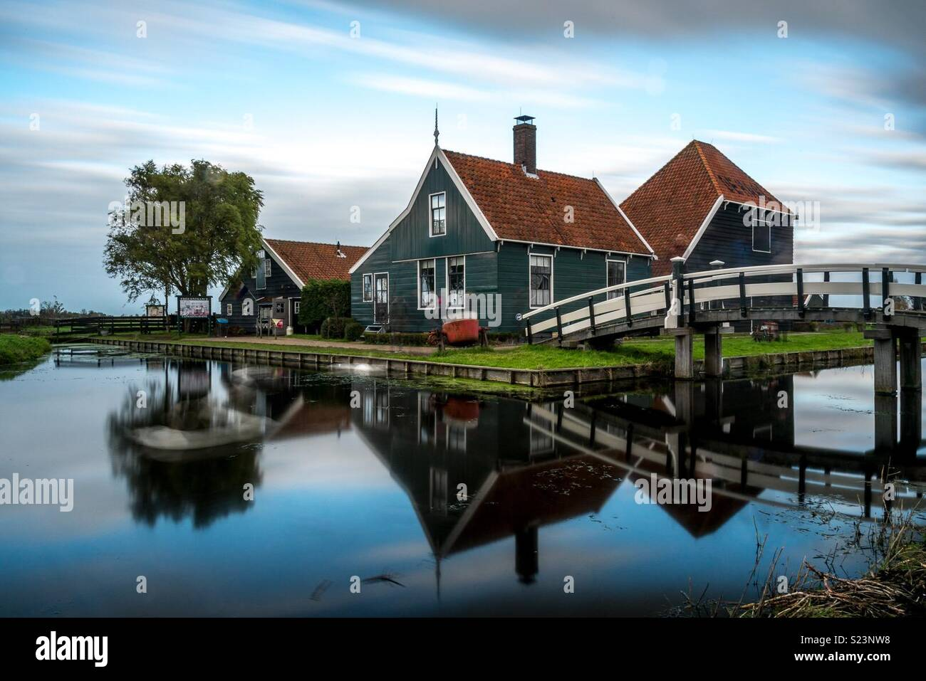 Boutique fromage, Zaanse Schans, Pays-Bas Photo Stock