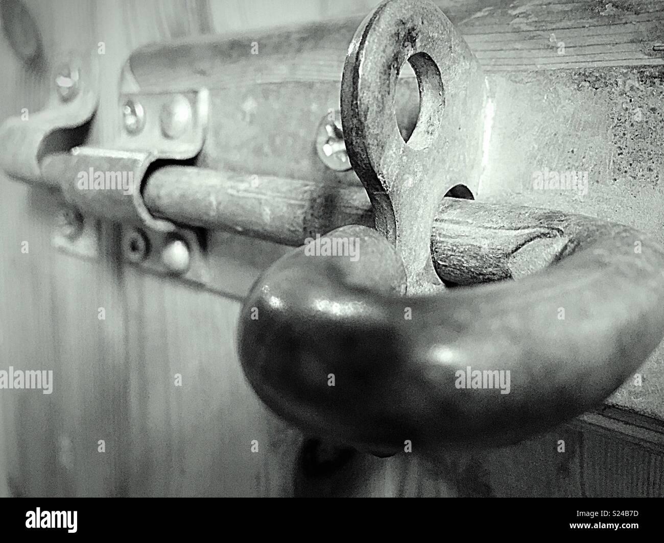 Vissé et sécurisé Photo Stock