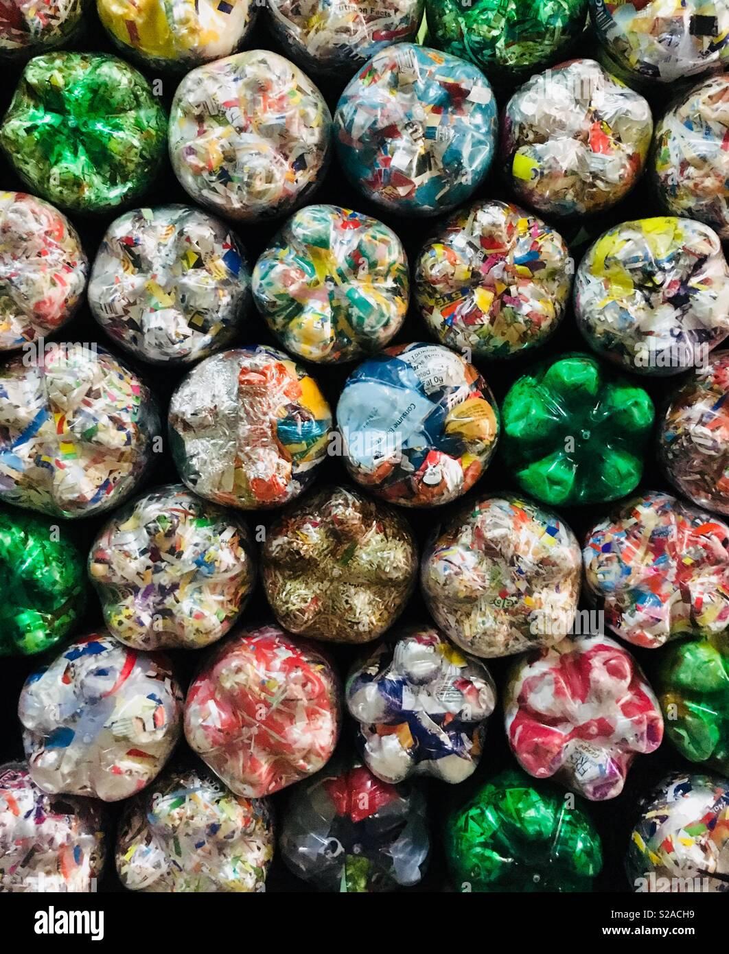 La gestion des déchets. . Photo Stock