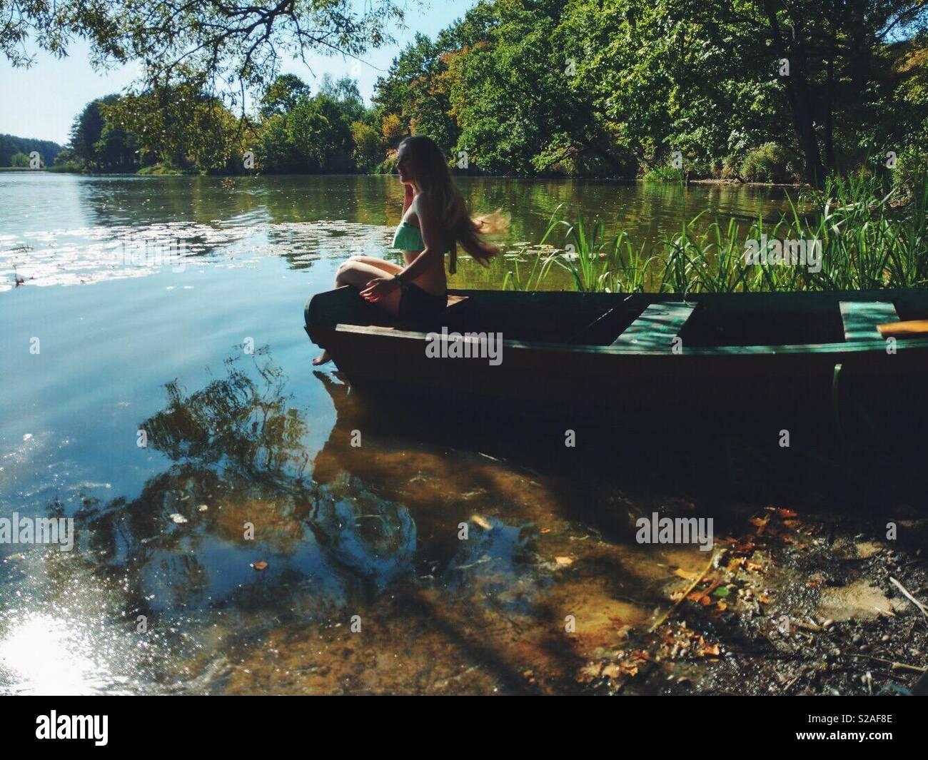 Journée paisible Photo Stock