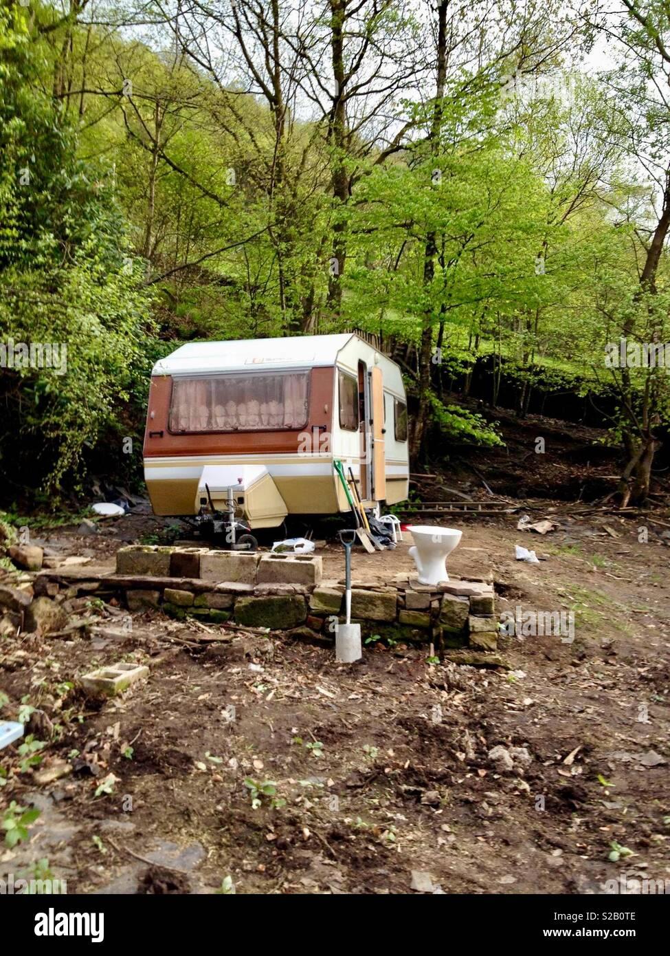 Caravane. Photo Stock