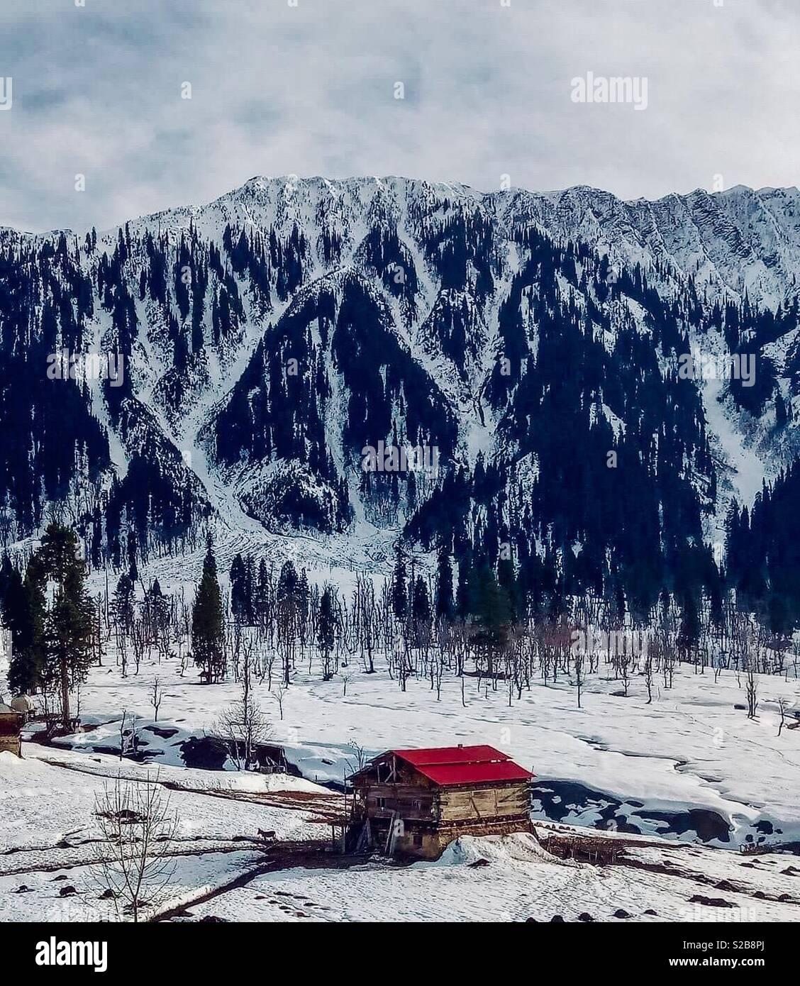 Région Nord du Pakistan Photo Stock