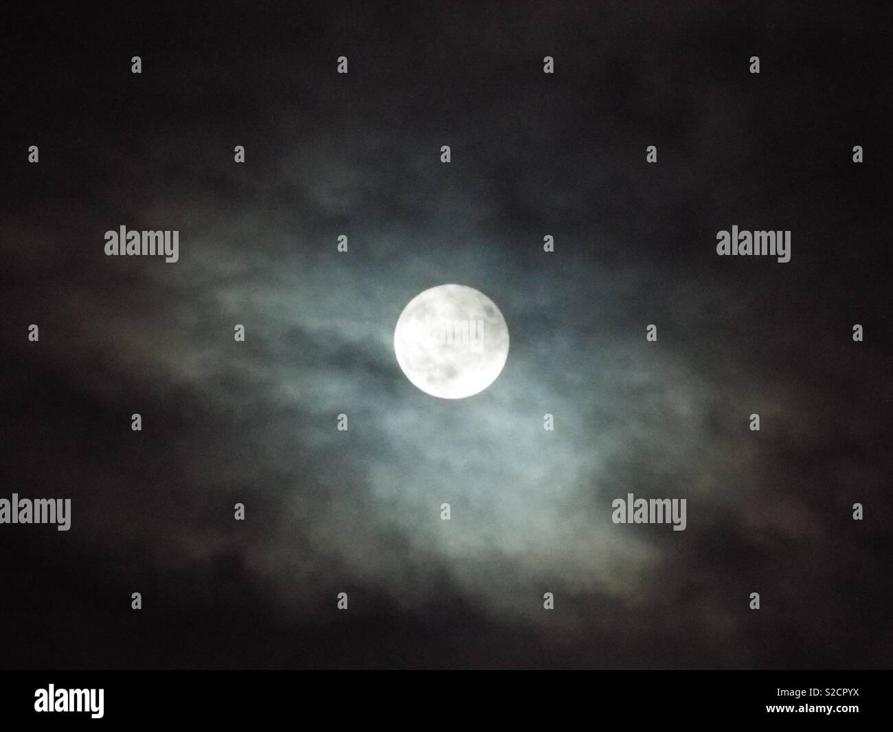 Clair de lune Banque D'Images