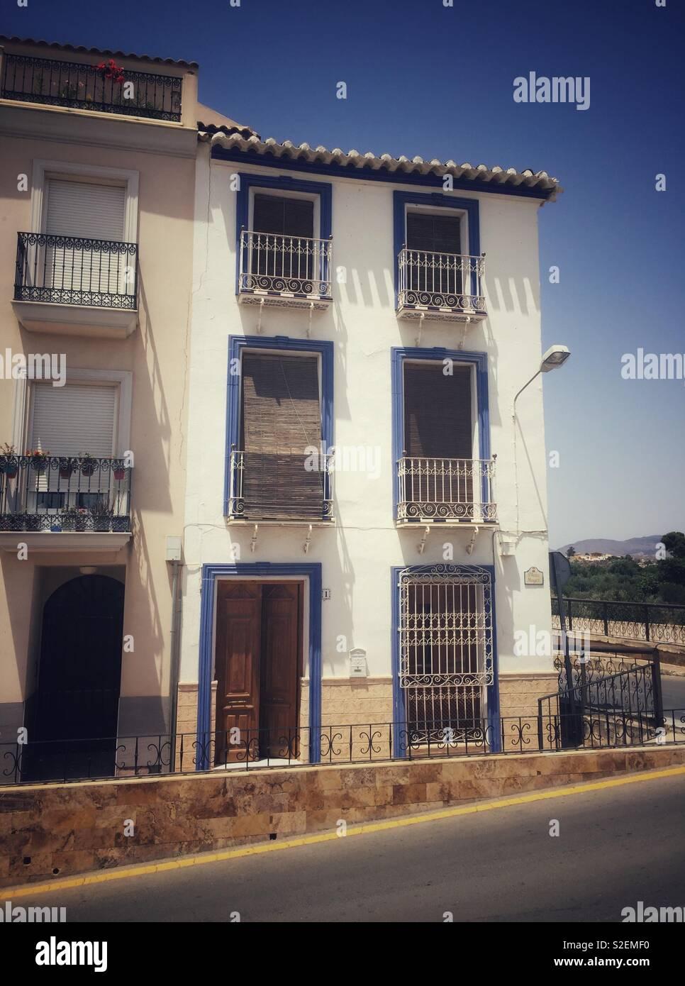 Maison espagnole Banque D'Images