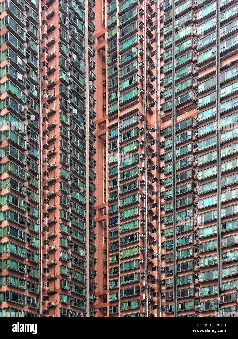 Bâtiment de Hong Kong Banque D'Images