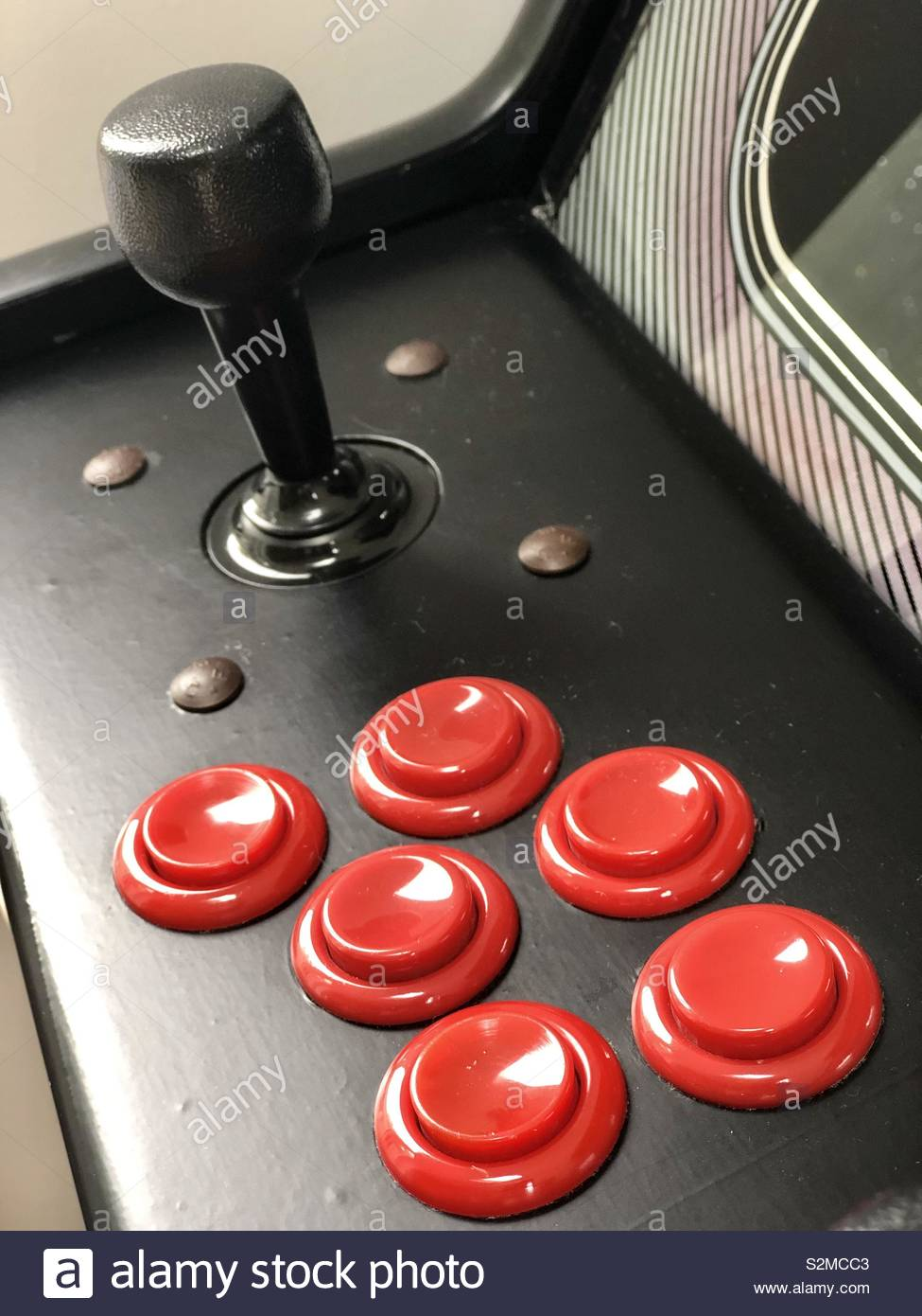 Machine d'Arcade Photo Stock