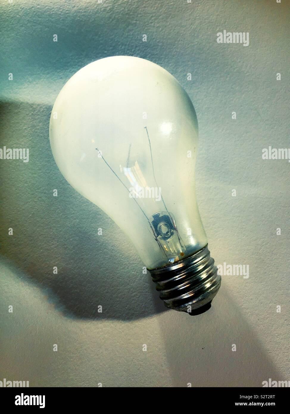 Ampoule électrique Photo Stock