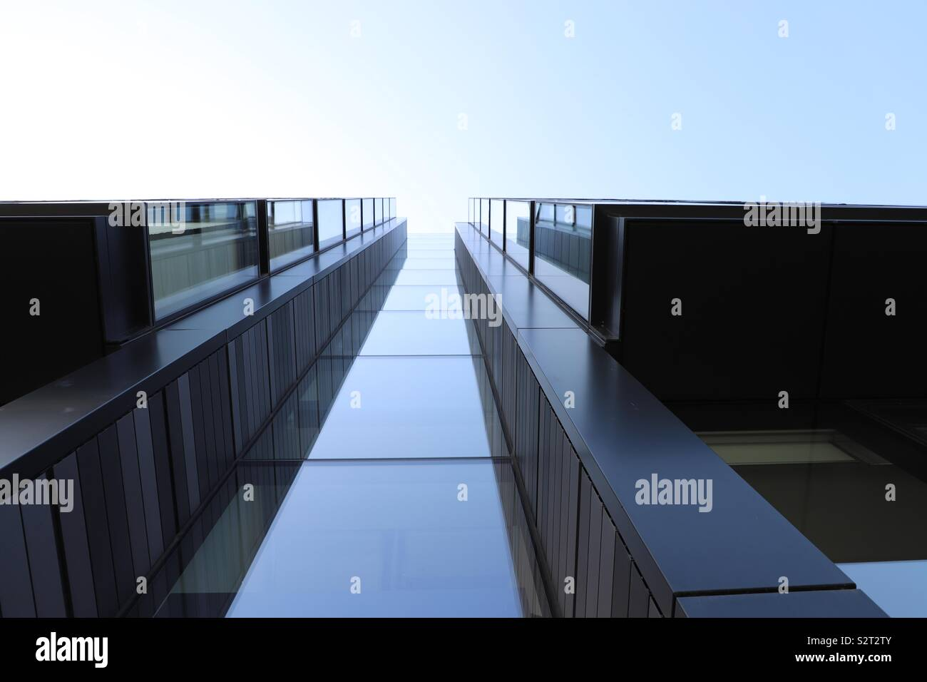 Abstract view of modern building Photo Stock
