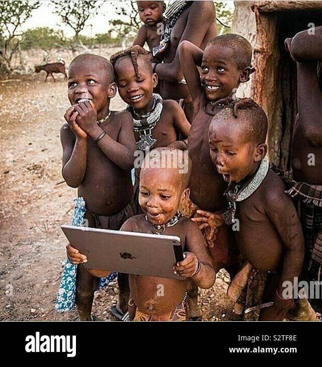 JayMShotIt! Black Kids et fier Banque D'Images