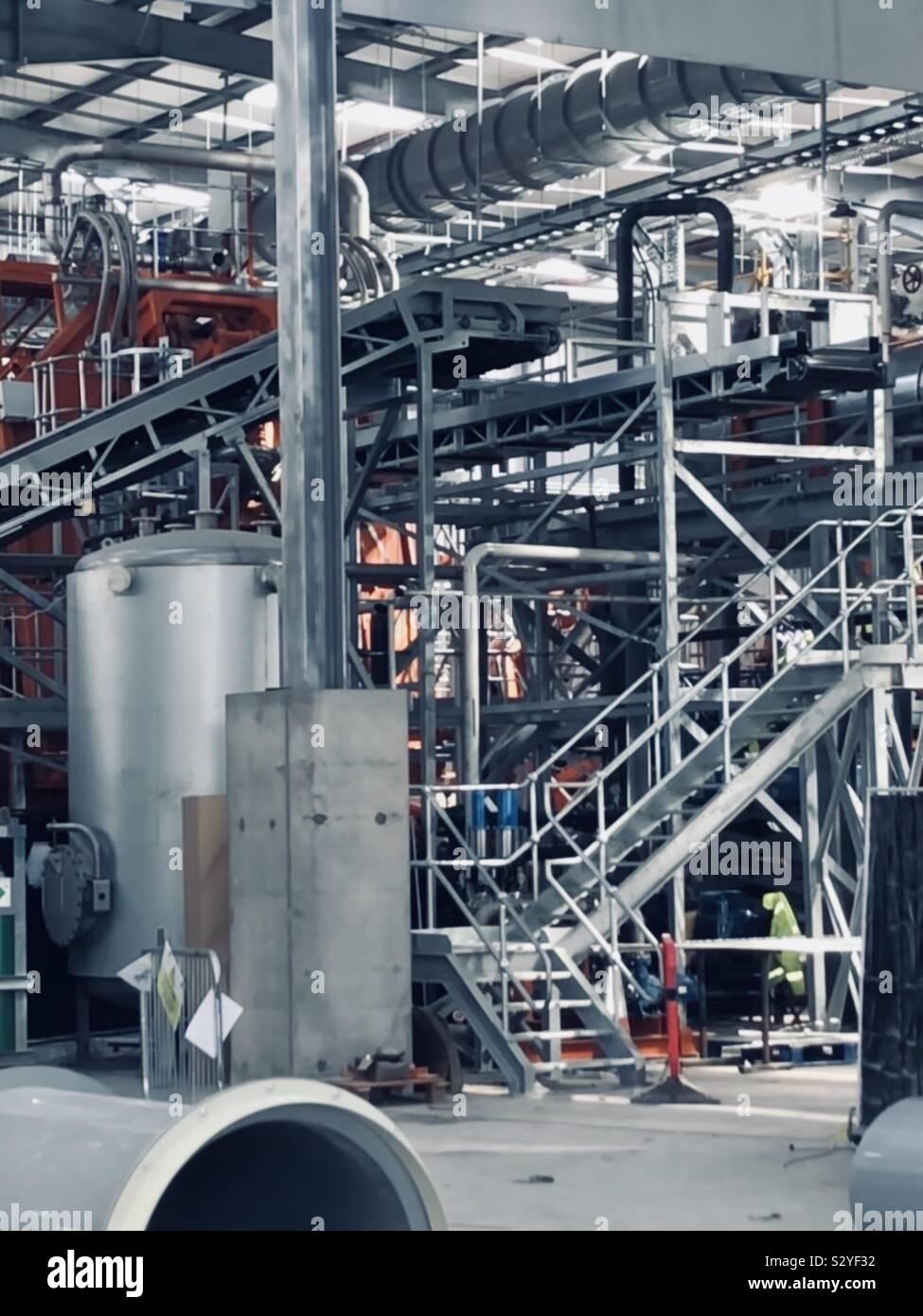 La vie industrielle Banque D'Images