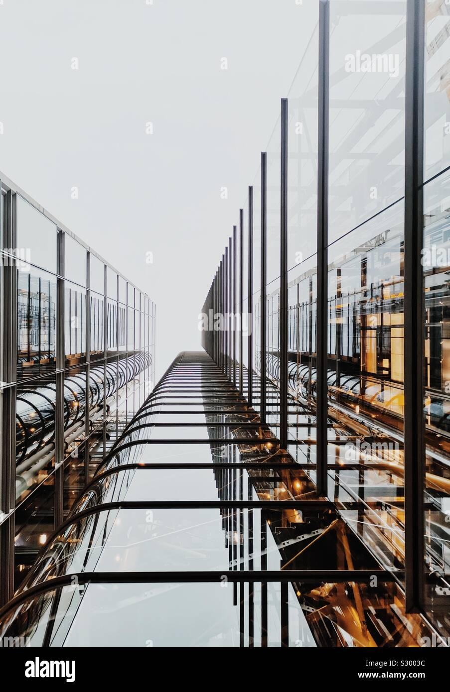 Architecture de Londres Banque D'Images