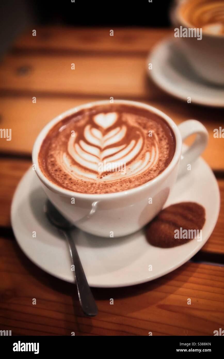 Moment café Banque D'Images