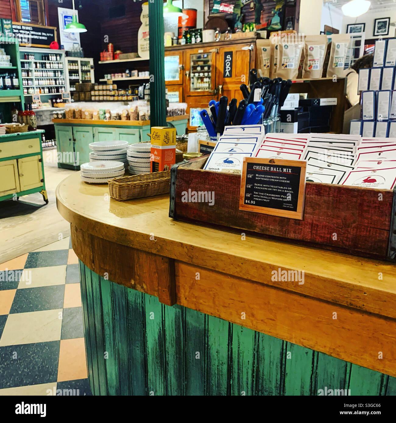 Vermont Country Store, Rockingham, Windham County, Vermont, États-Unis Banque D'Images