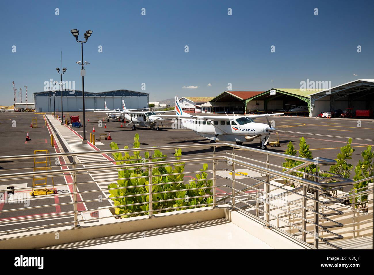 Costa Rica airport San Jose. Photo Stock