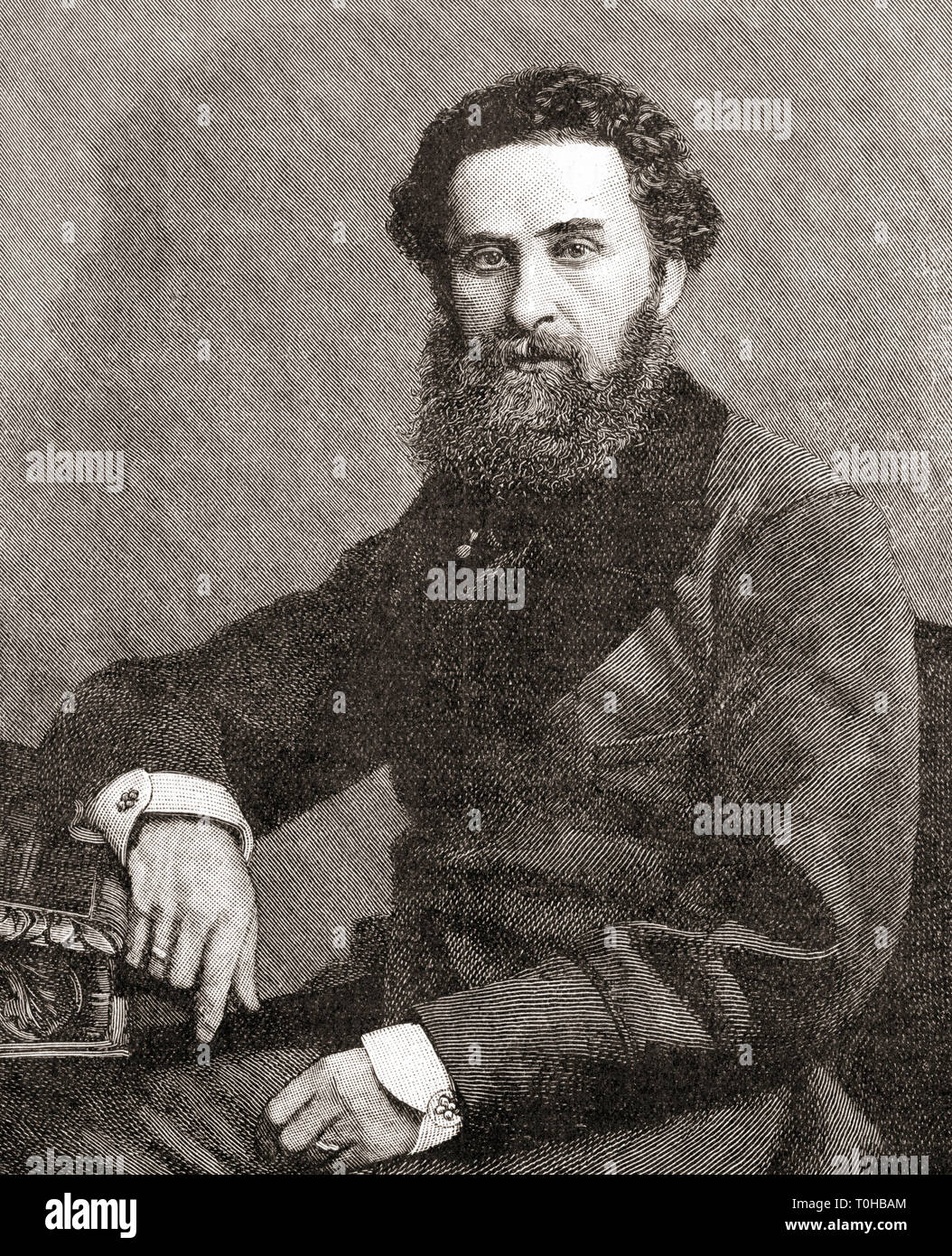 L'ancien vice-roi des Indes, Robert Bulwer Lytton, 1er comte de Lytton Banque D'Images