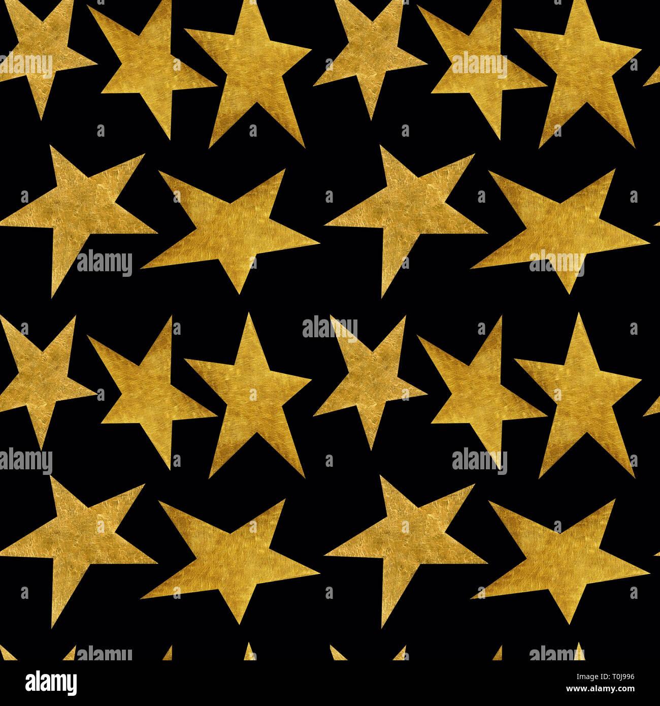 Modèle Transparent Avec Des étoiles Métalliques Dor Sur
