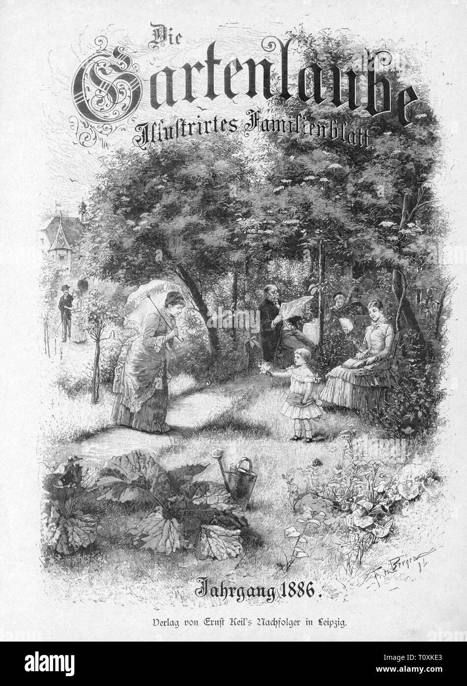 """Presse/médias, magazines, """"Dada"""", front page, éditeur: Raoul Hausmann (1886 - 1971), numéro 2, Berlin, 1919 / 1920, l'artiste n'a pas d'auteur pour être effacé Photo Stock"""