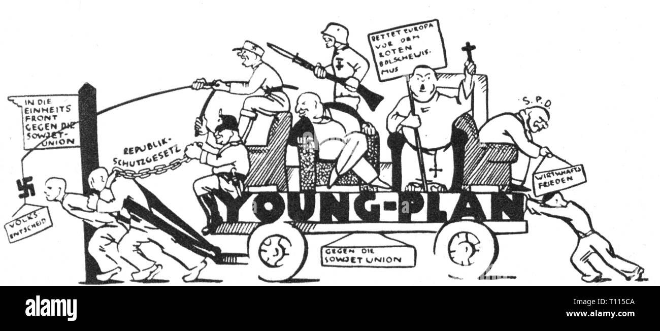 La Politique La Caricature Les Jeunes Plan Dessin