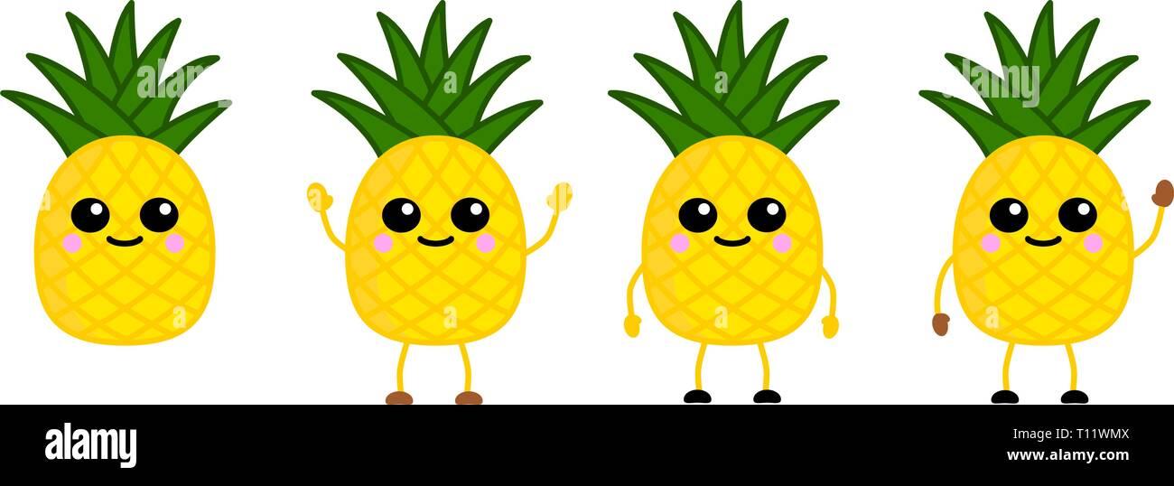 performance fiable le meilleur beaucoup de styles Cartoon Happy Pineapple Photos & Cartoon Happy Pineapple ...