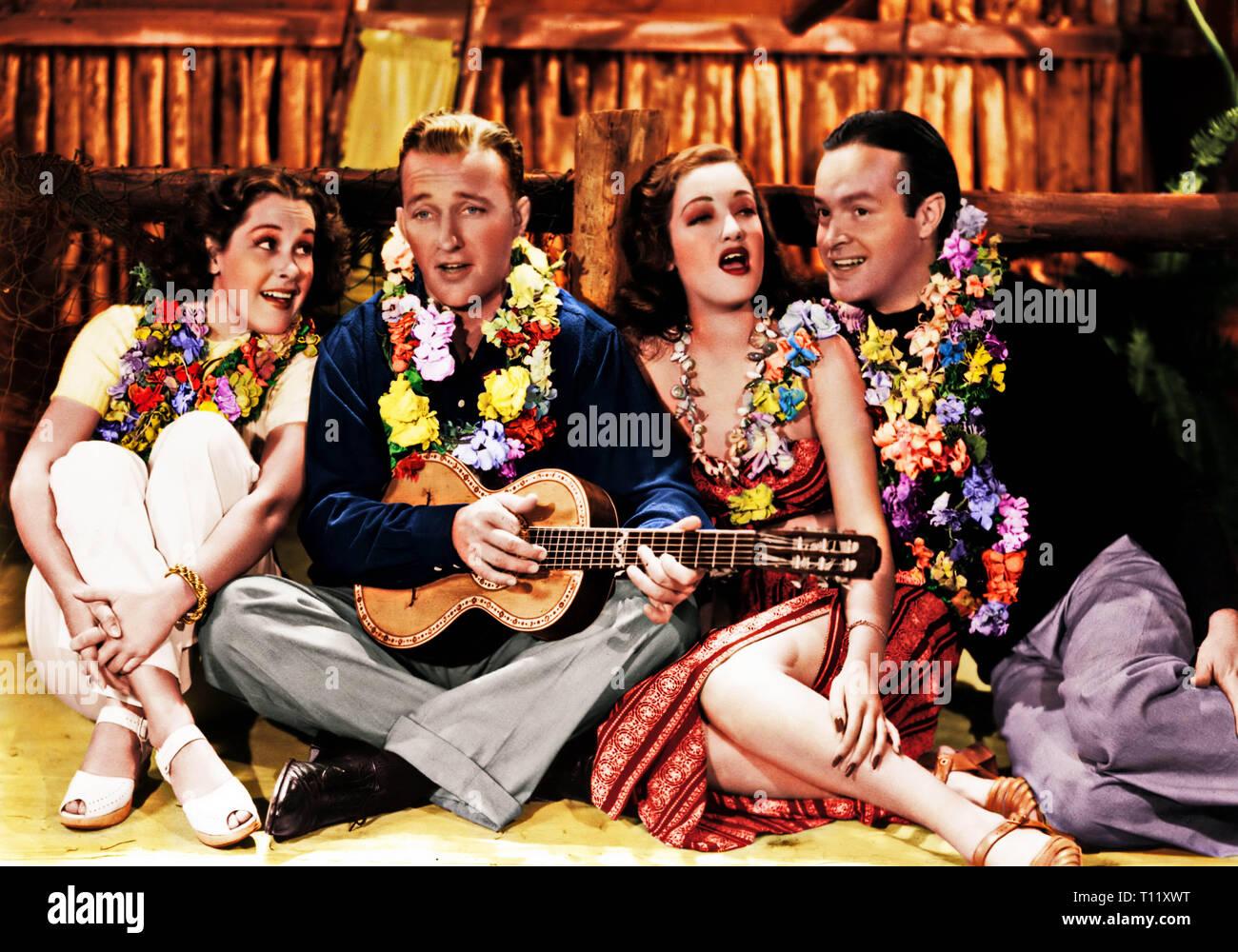 1940 semi-américaine encore de comédie film réalisé par Victor Schertzinger et avec Bing Crosby, Dorothy Lamour and Bob Hope. Basé sur une histoire de Harry Hervey, c'est un film sur deux playboys essaie d'oublier les romances dans la colonie de Singapour, où ils rencontrent une belle femme. Distribué par Paramount Pictures, le film a marqué le début de la longue et populaire 'Road to ...' série de photos mettant en lumière le trio, sept au total. L'appui comprend Charles Coburn, Anthony Quinn, et Jerry Colonna. Elle a lieu à Singapour sous la domination britannique. Hollywood: crédit Pho Photo Stock