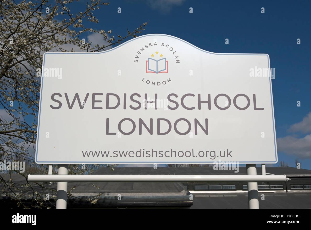svenska skolan london
