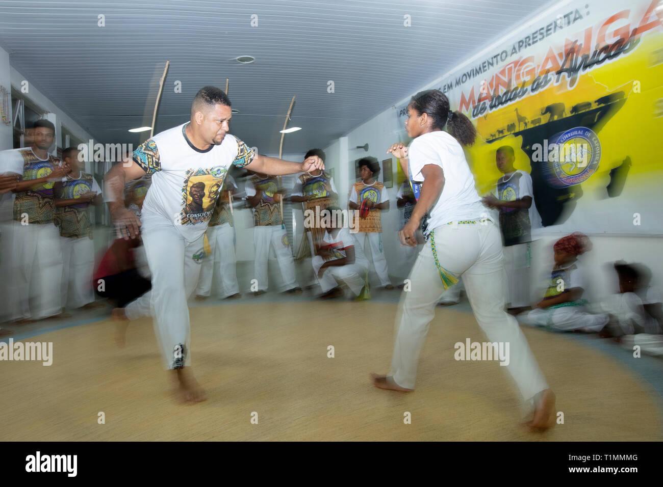 Capoeira datant