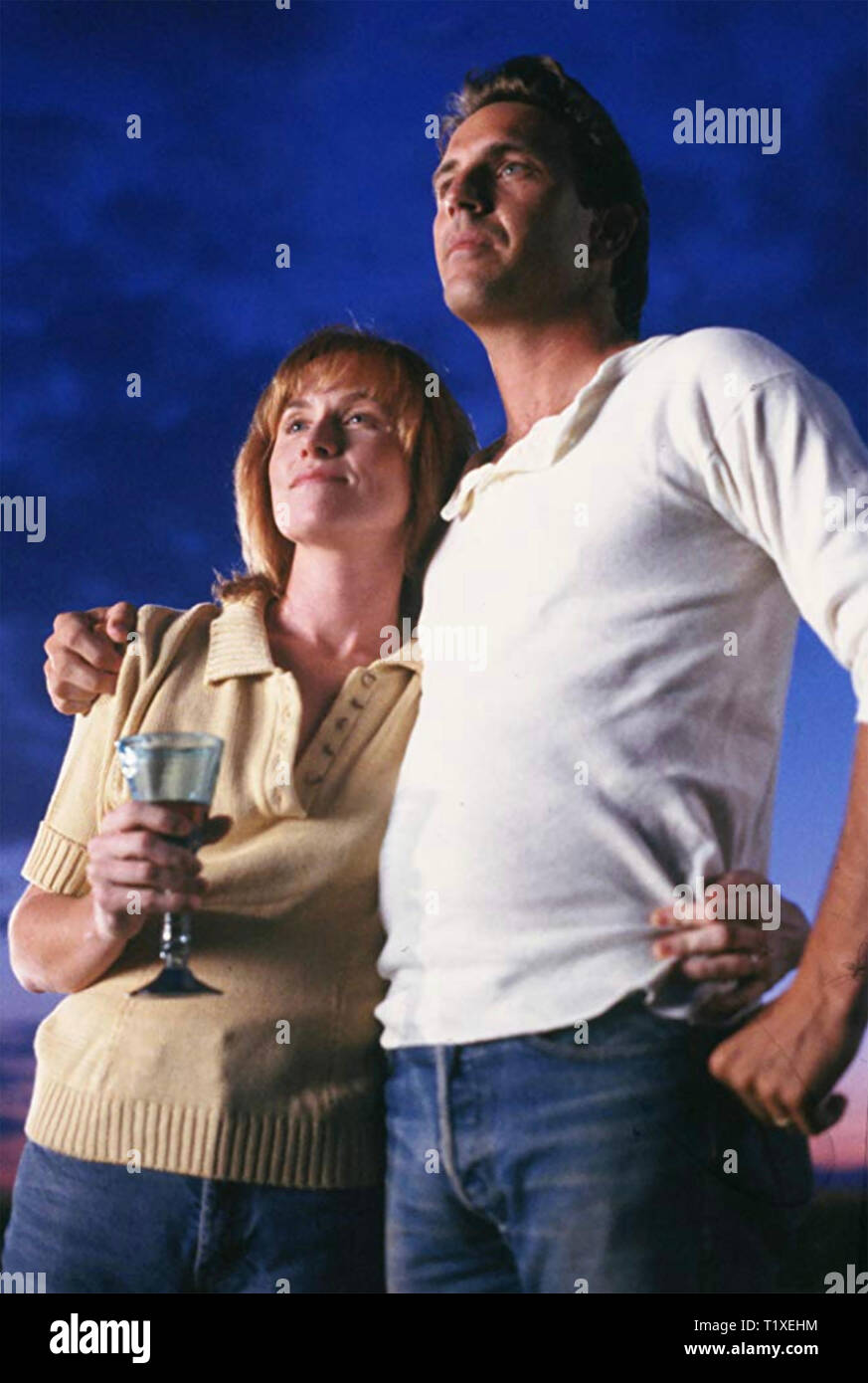 Champ de rêves 1989 Universal Pictures film avec Kevin Costner et Amy Madigan Photo Stock